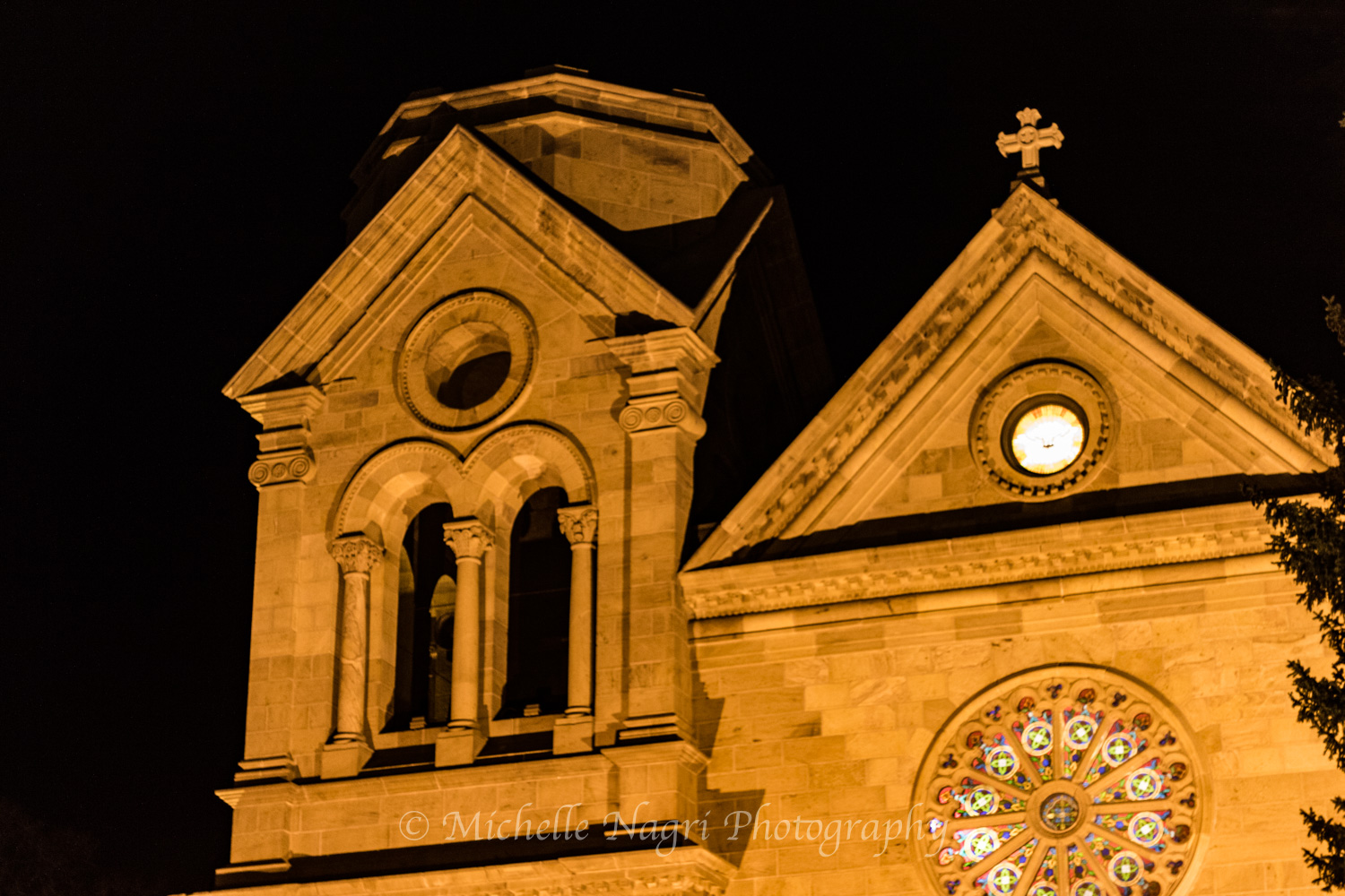 Front of Cathedral Basilica of St. Francis of Assisi