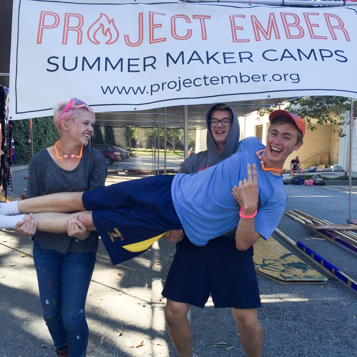 We are excited to welcome Anna, Alex and Addison to Project Ember (and they seem pretty happy about it too!)
