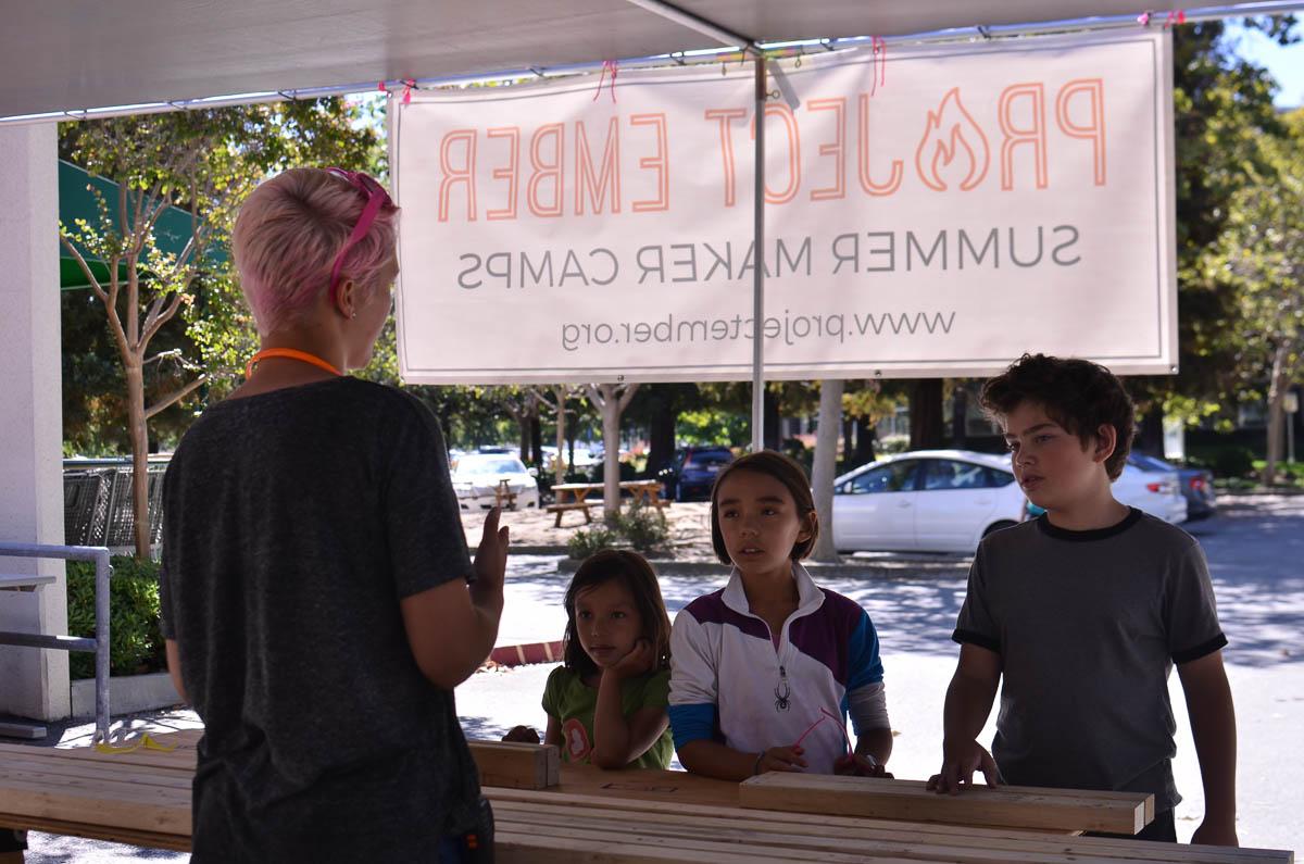 Anna, Ella, Asha and Zach talk 'Floptopus'