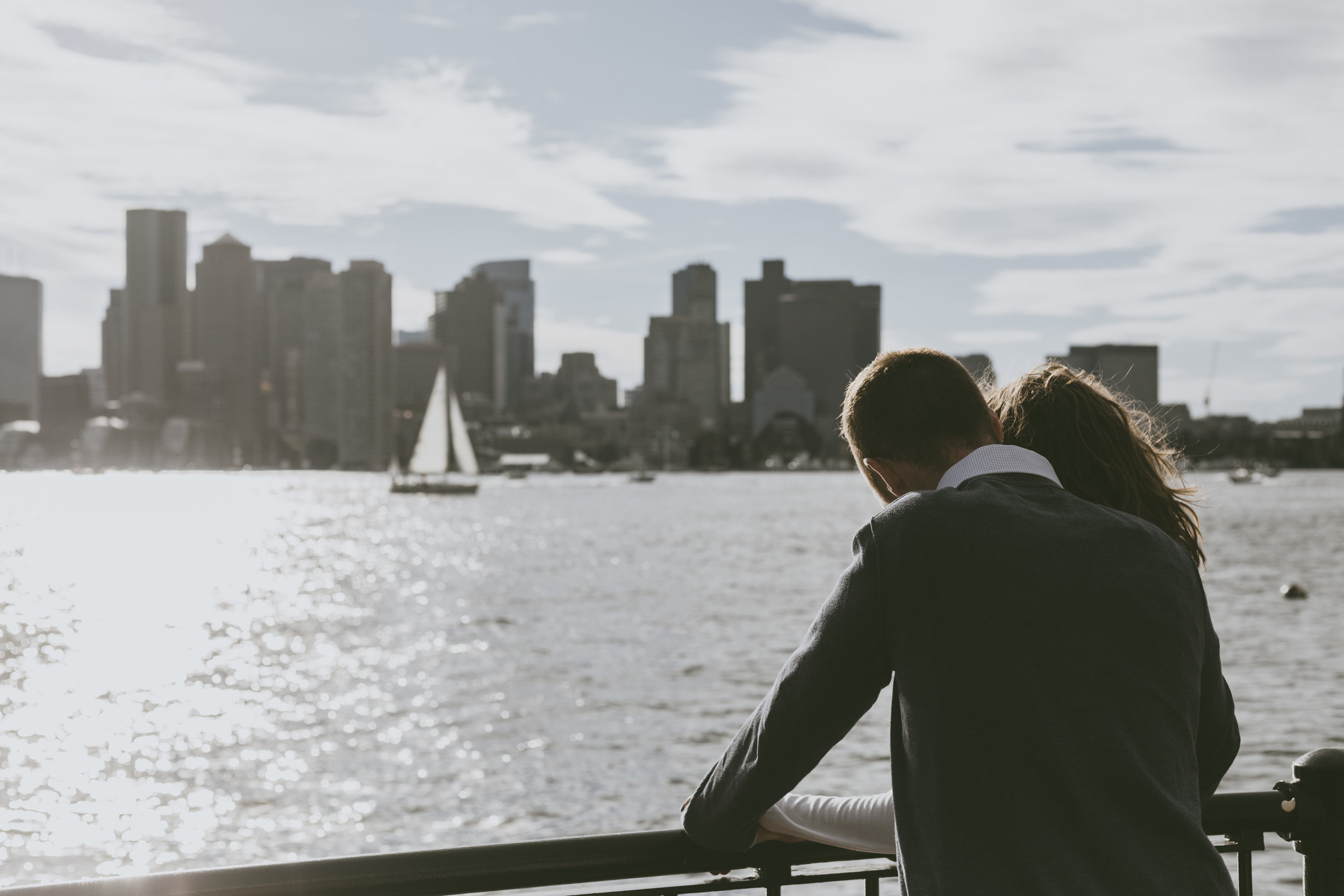 N+D Engagement Session at Piers Park