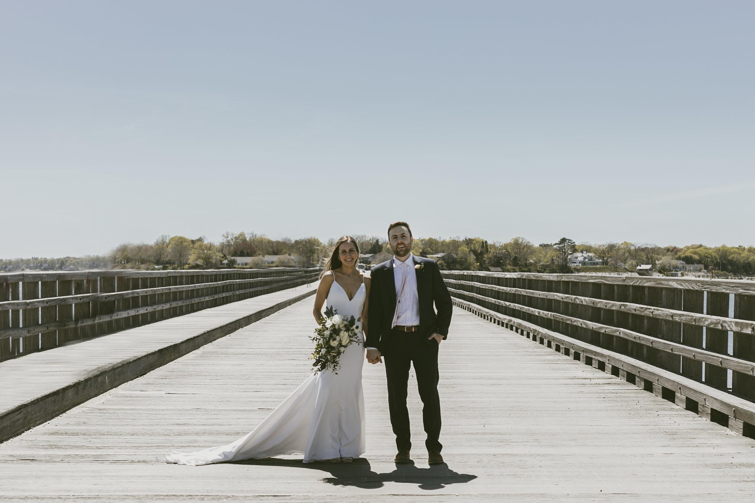 F+C Intimate Beach Wedding in Duxbury, MA