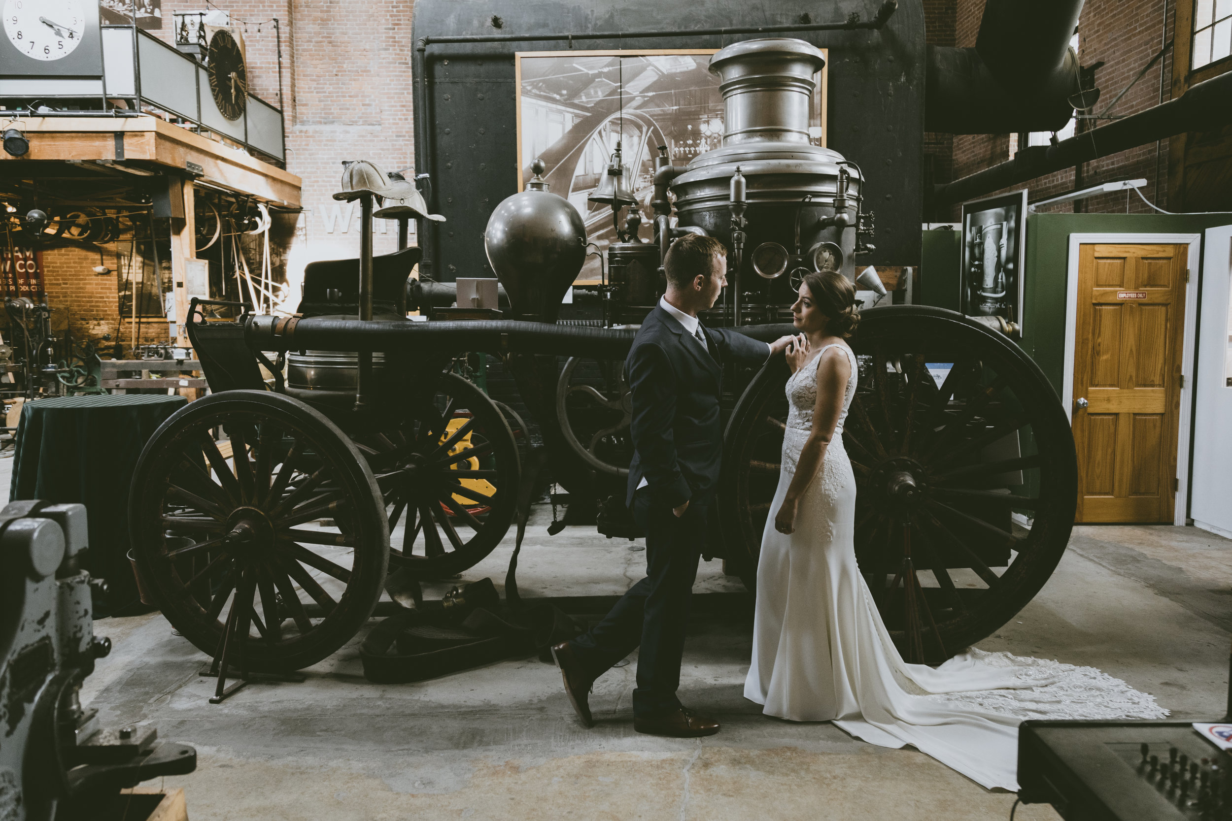 N+D Wedding at the Charles River Museum