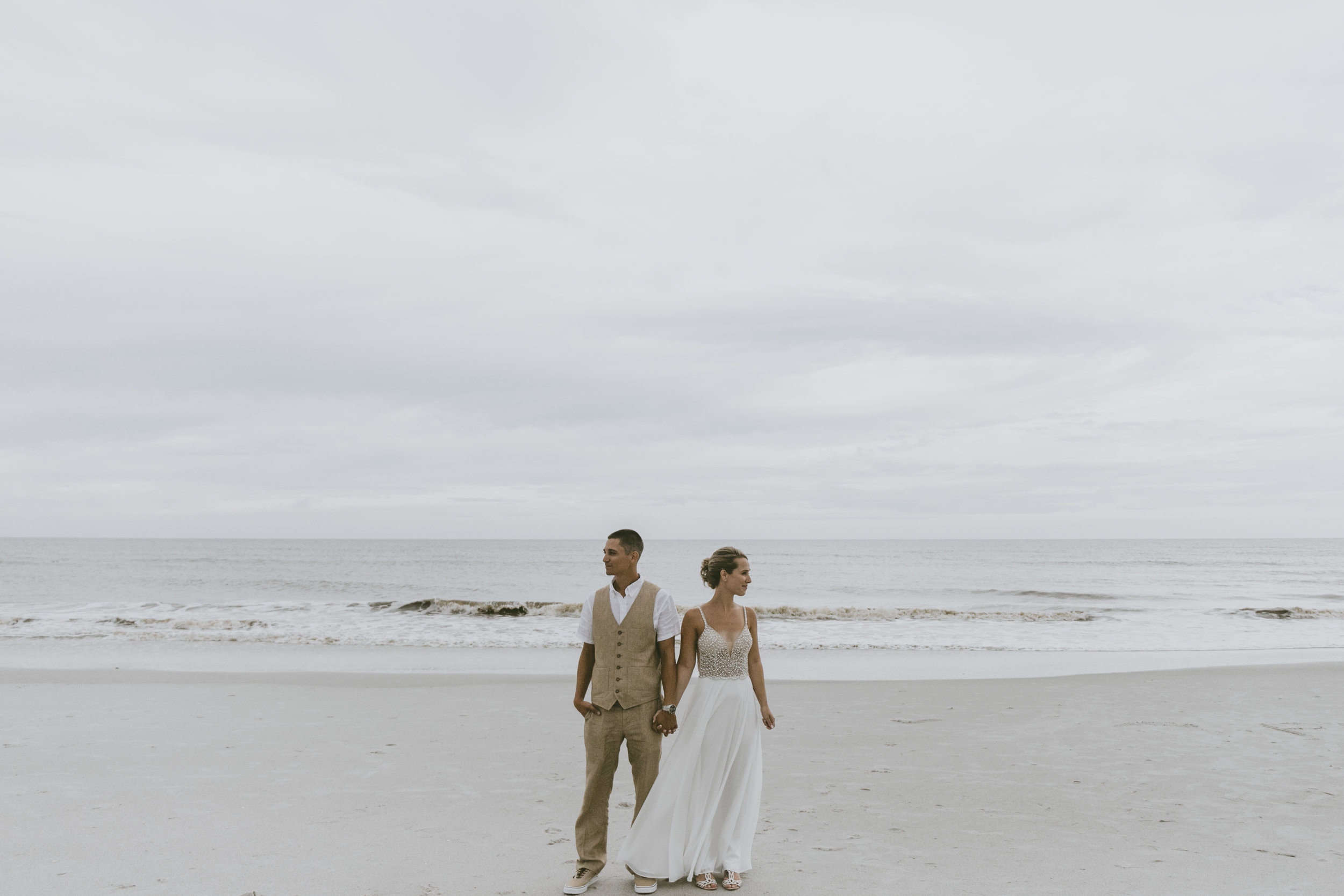 A+T Romantic Florida Beach Wedding
