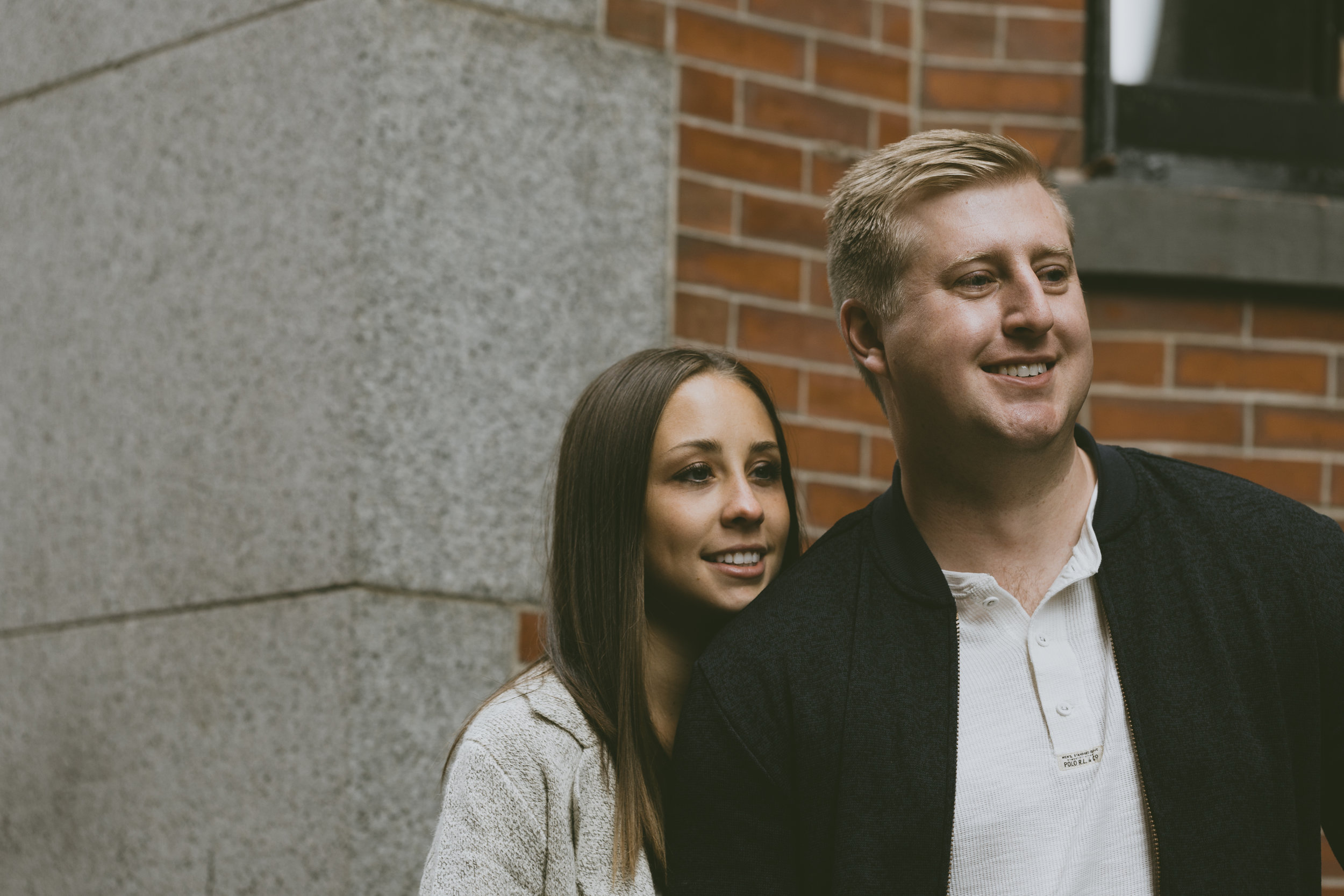 R+G Couples Session on Acorn Street