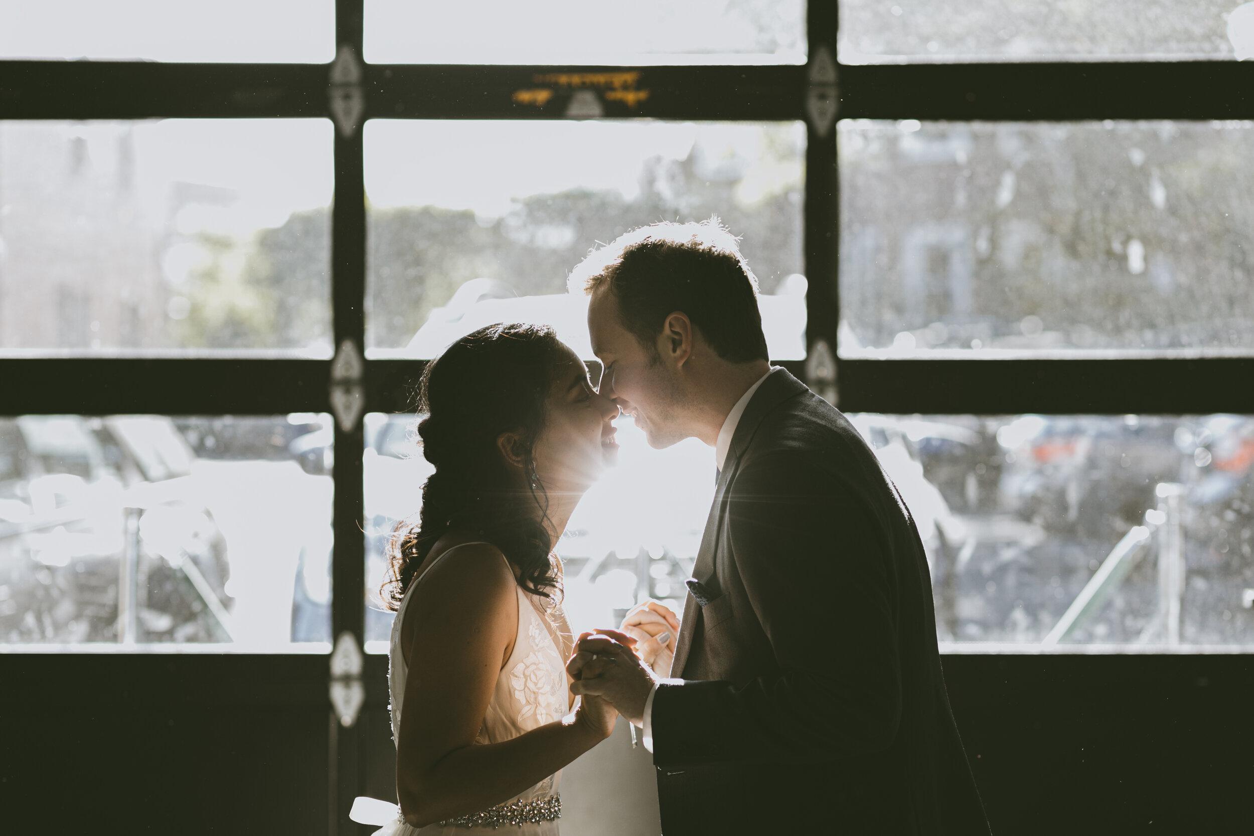 P+A Intimate Warehouse XI Wedding