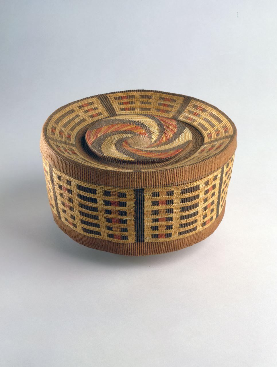 Tlingit Rattletop basket