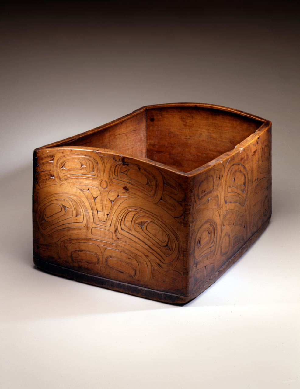 Haida Bent Corner Bowl