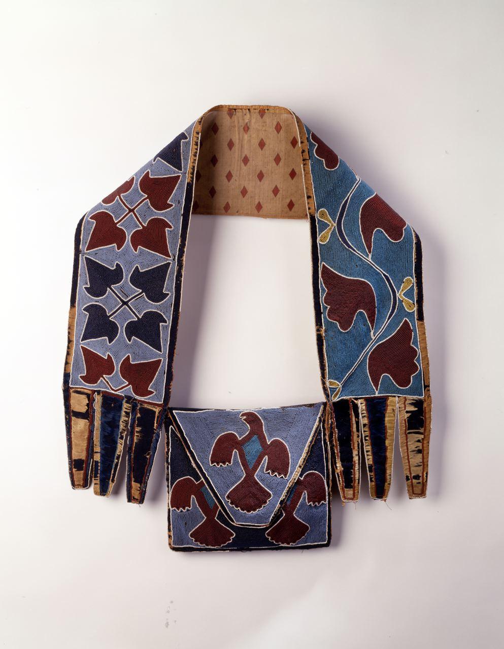 Shawnee/Delaware Bandolier Bag