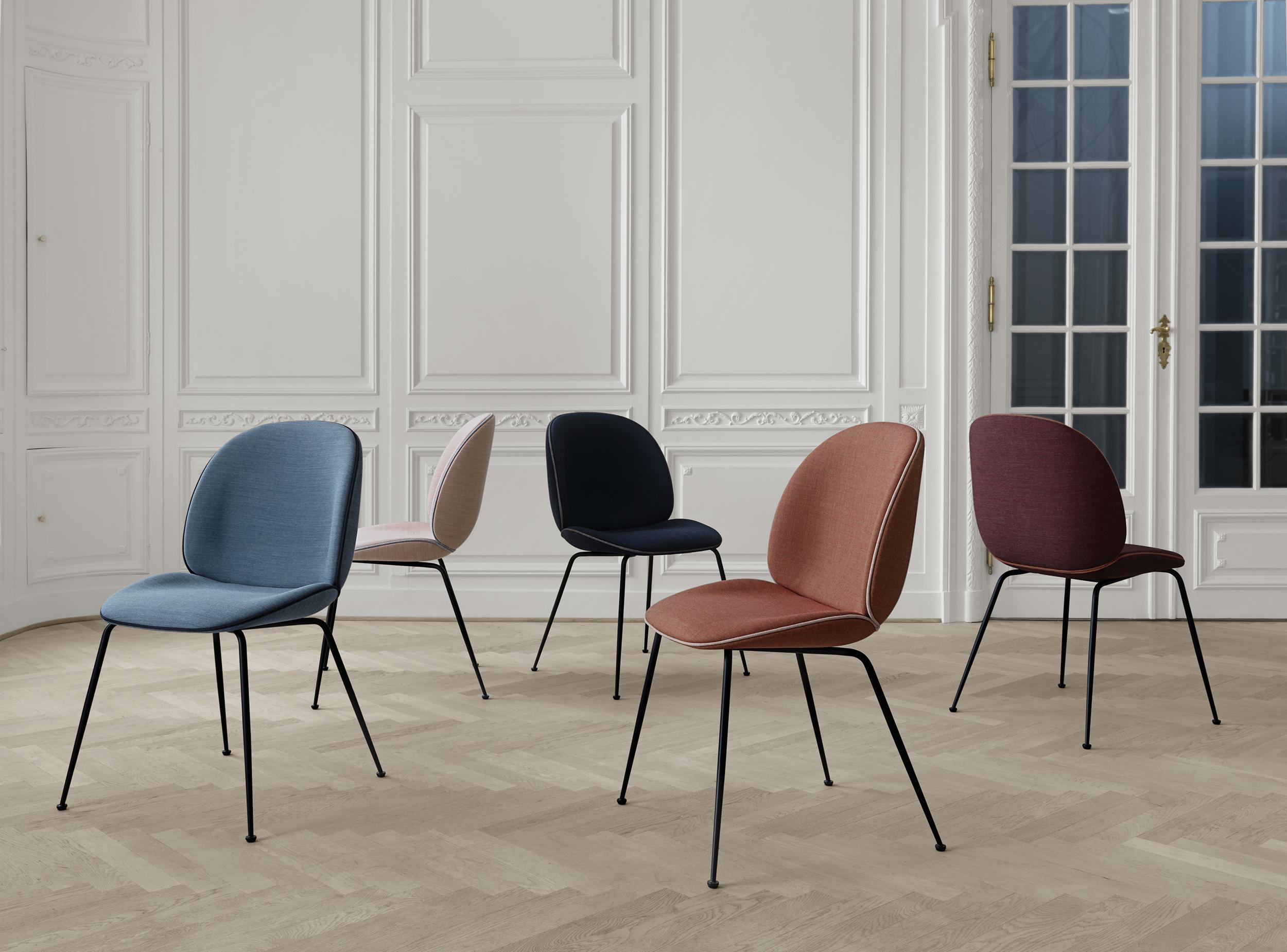 Name : Beetle dining chair / Designer :GamFratesi, 2013