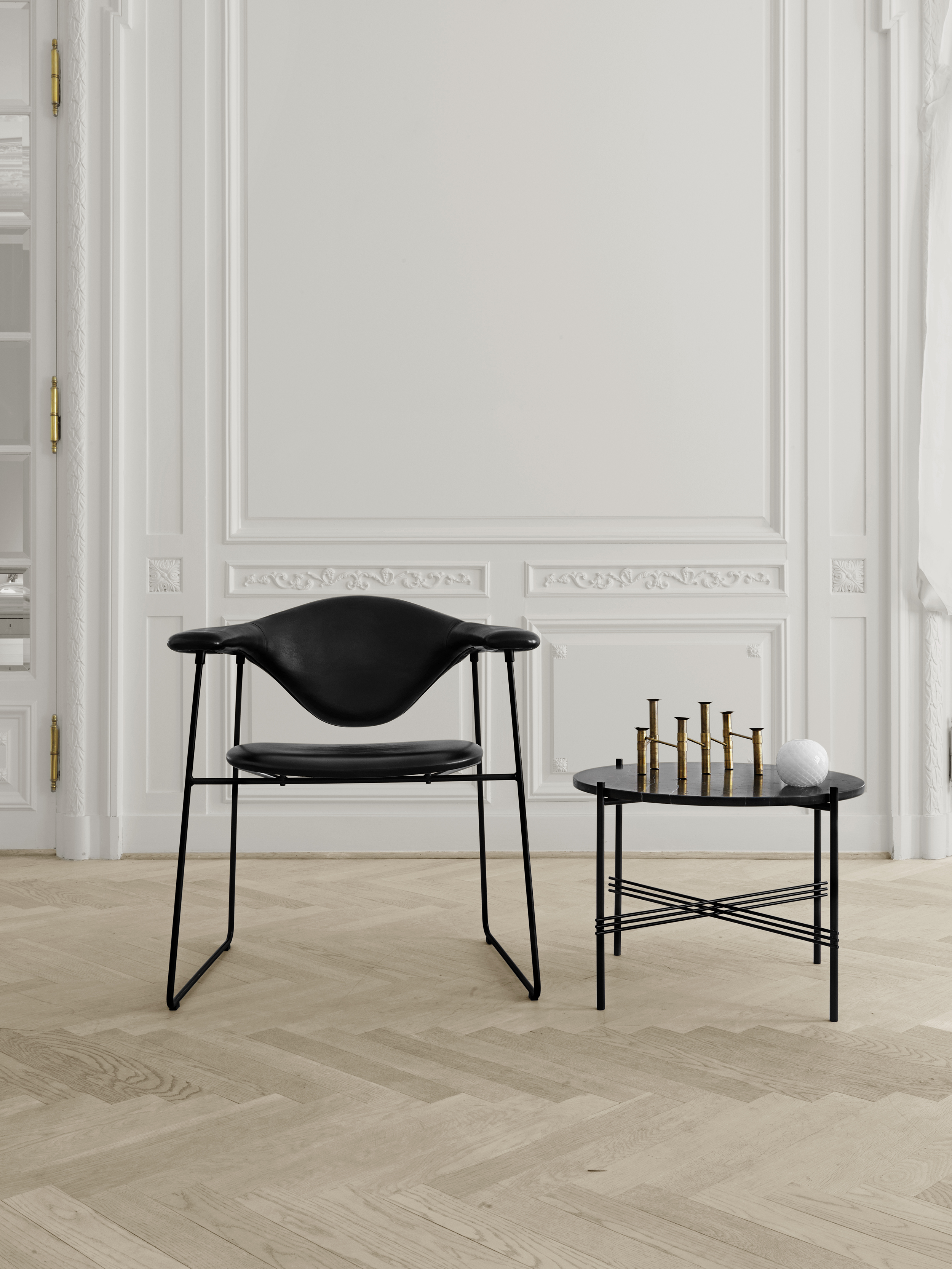 Name :Masculo dining chair / Designer :GamFratesi, 2008