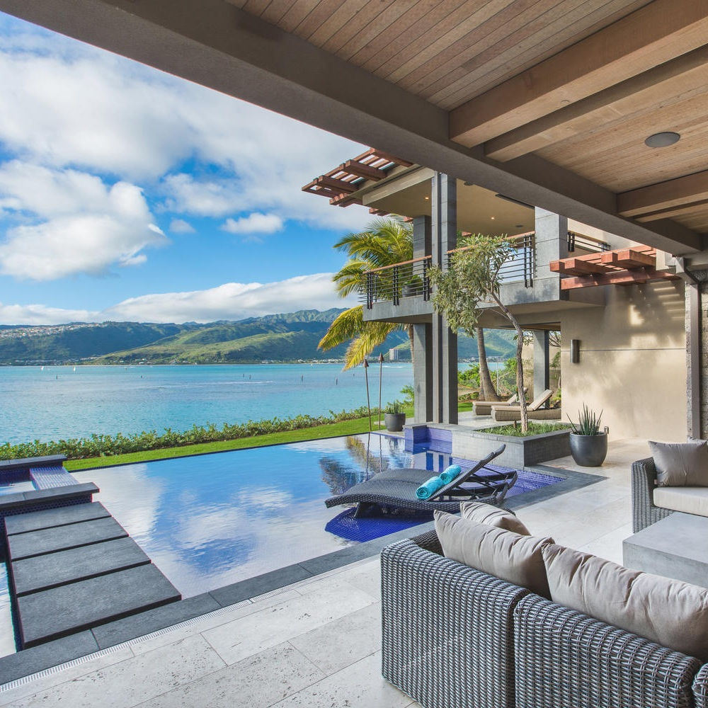 Ocean House - Portlock, OahuMonthly Rates starting at $50,0006 Bedrooms6.5 Bathrooms