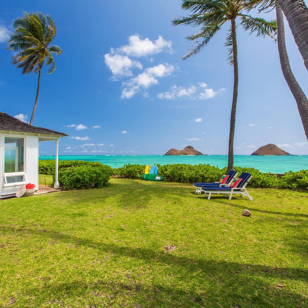 Lanikai Oceanside - Lanikai, OahuMonthly Rates Starting at $17,5005 Bedrooms4 Bathrooms