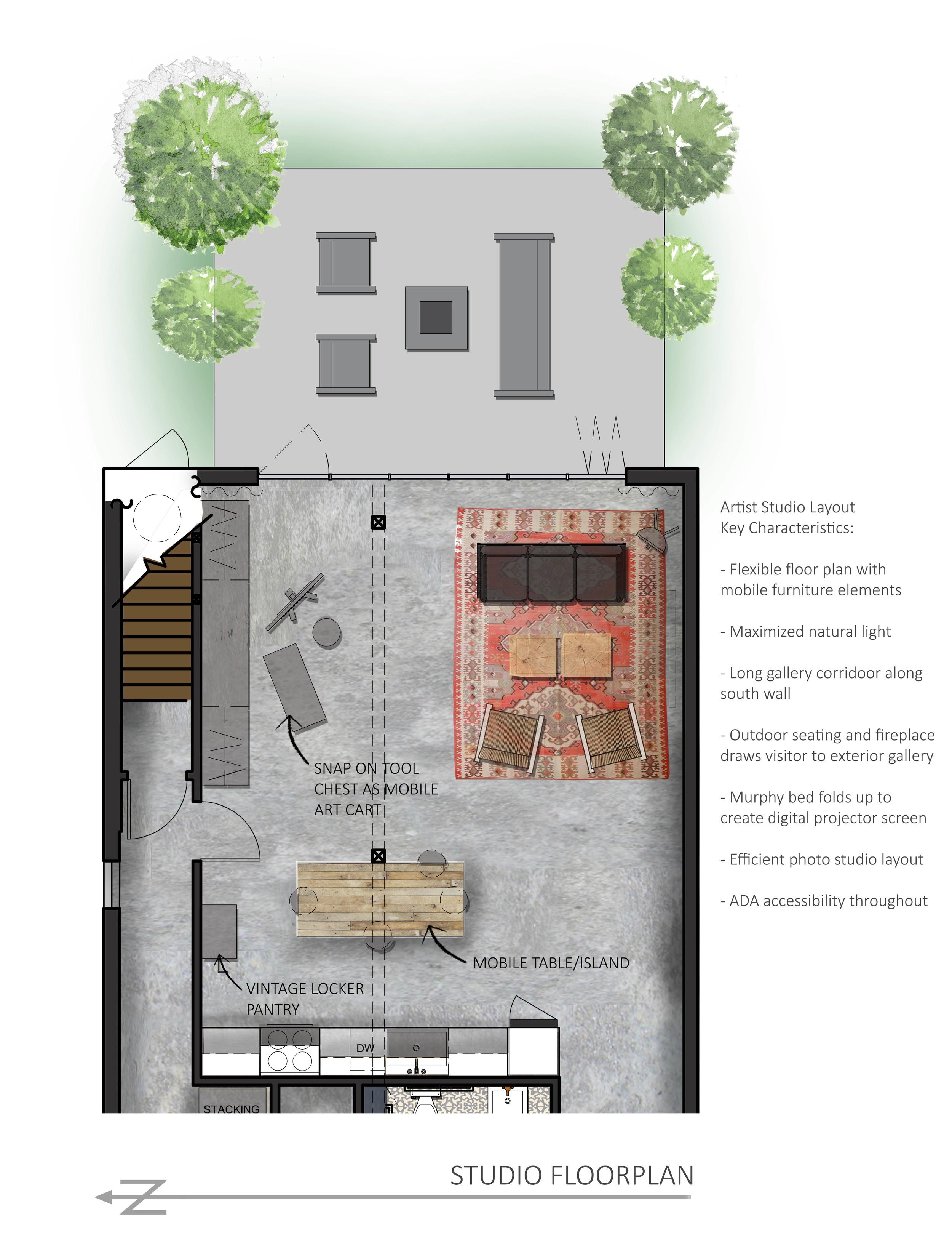 Artist Studio Sara Katherine Design