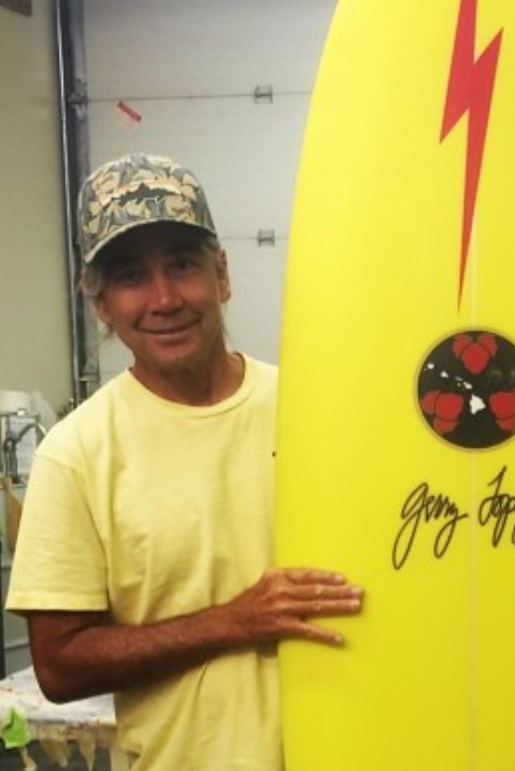 Gerry Lopez (Vince Moaloka)    www.gerrylopezsurfboards.com