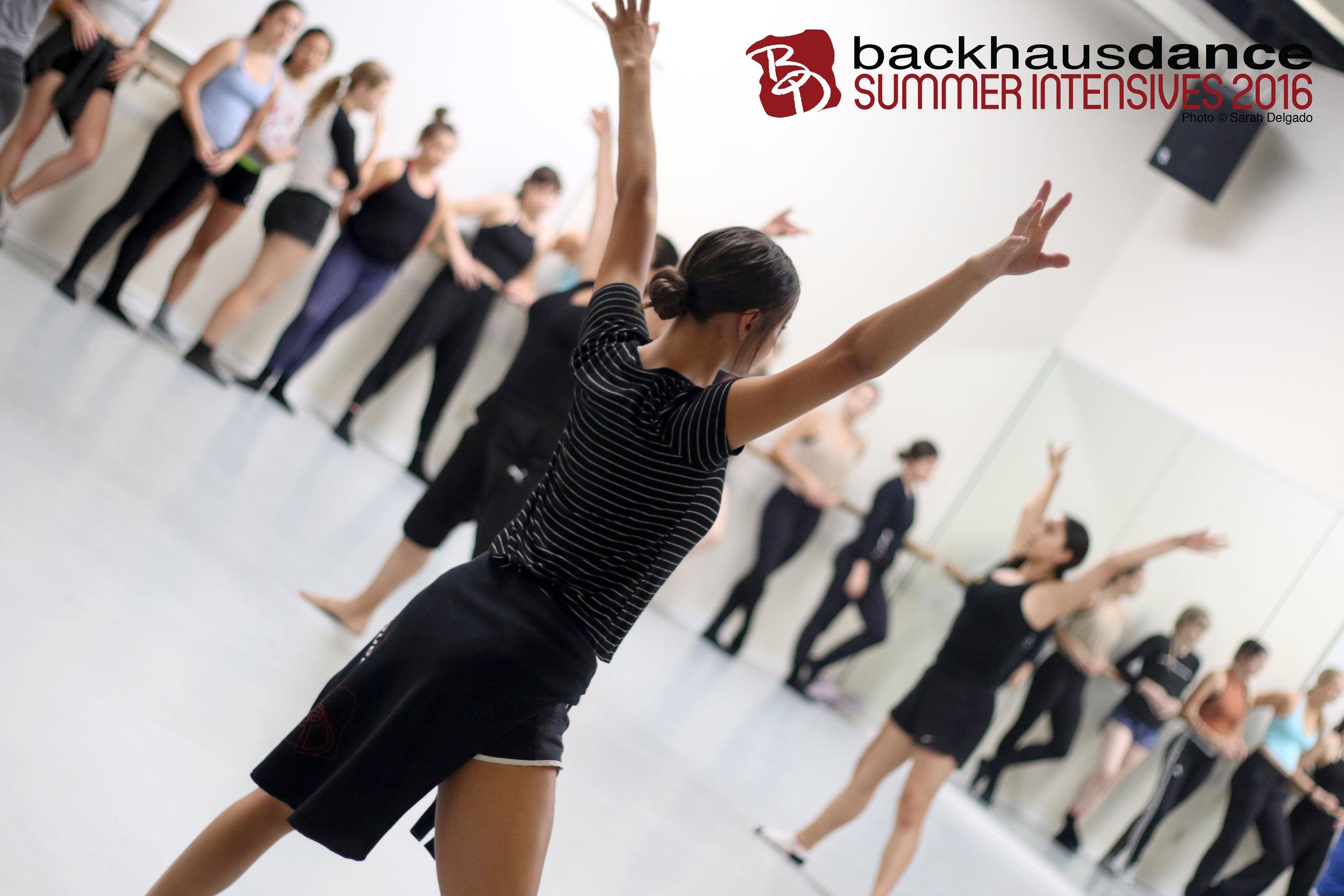 Backhausdance Summer Intensives 2016