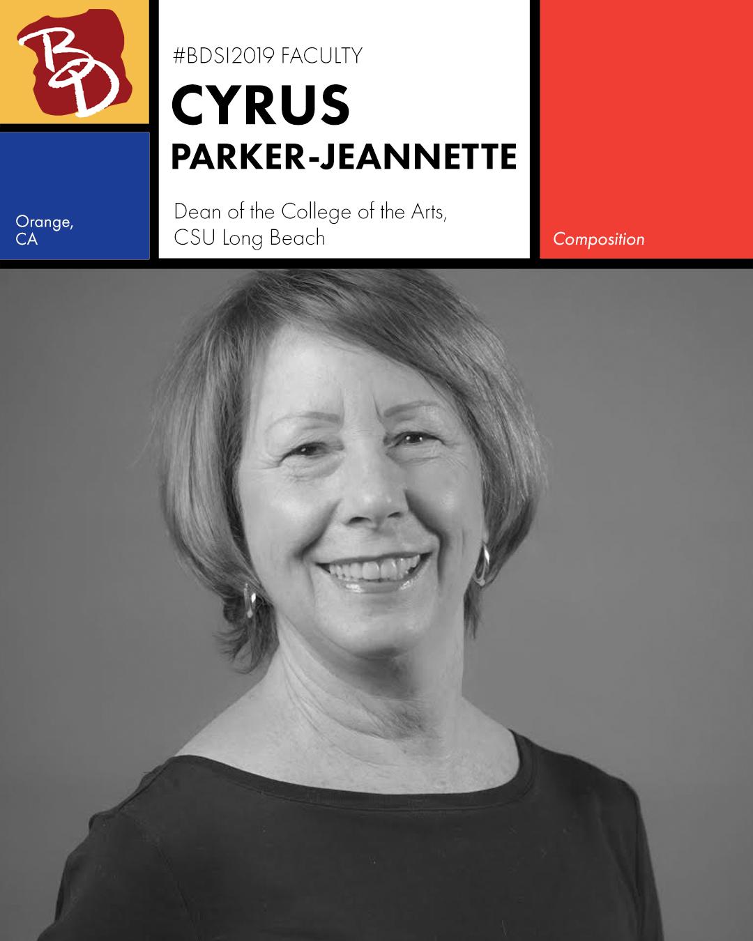 Faculty Announcement - Parker-Jeannette Cyrus.jpg