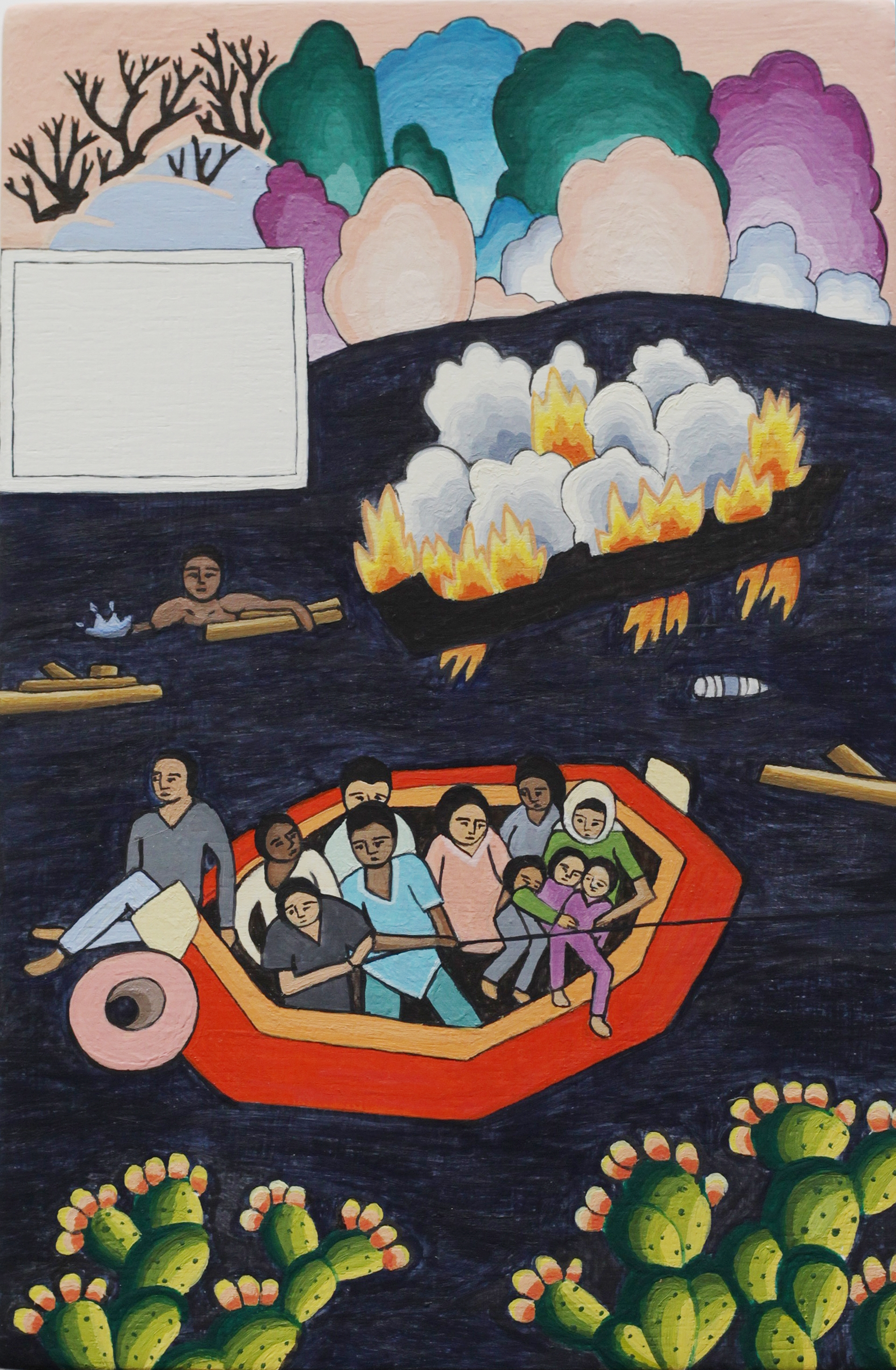 Migrant Shipwreck off Lampedusa, Mediterranean Sea