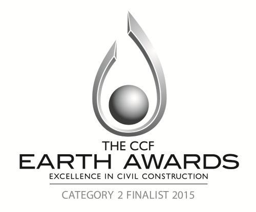 CIVIL CONTRACTORS FEDERATION EARTH AWARDS FINALIST 2015 -