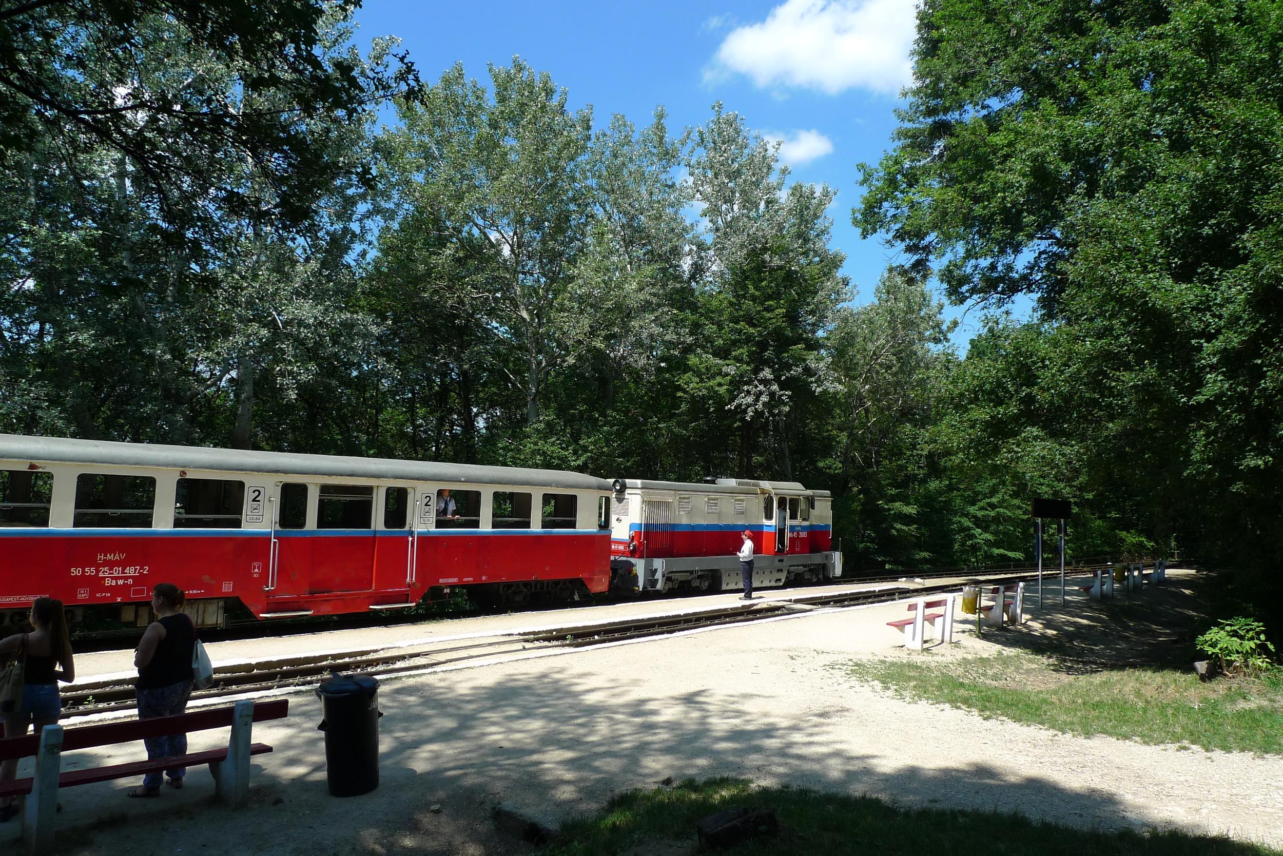 Children's Railway gyermekvasut budapest buda hills hungary