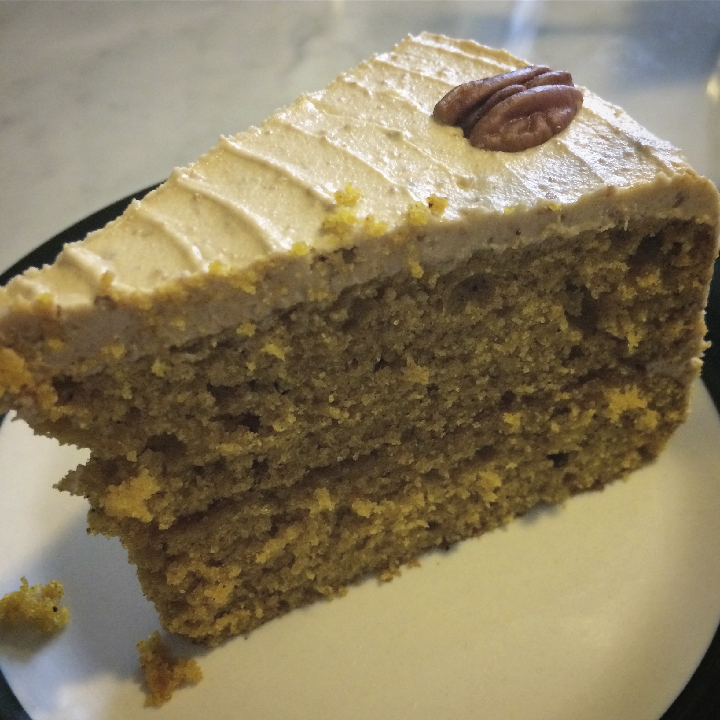 vegan pumpkin cake from Plant Itaewon