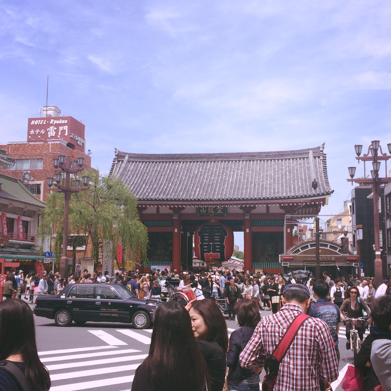 Thunder Gate Senso-ji Asakusa Tokyo