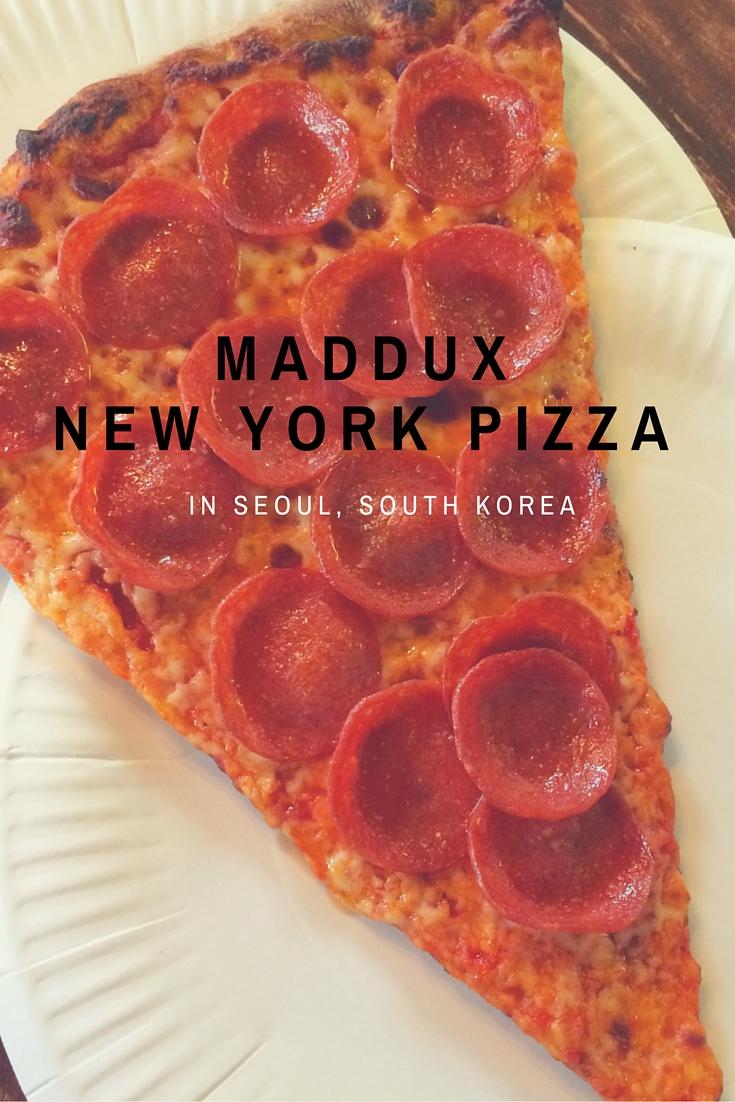 Pepperoni Slice at Maddux in Itaewon Seoul