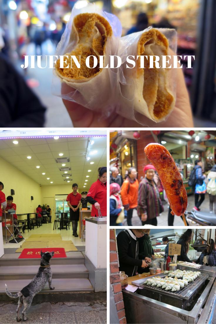 Jiufen Old Street, Jiufen, Taiwain