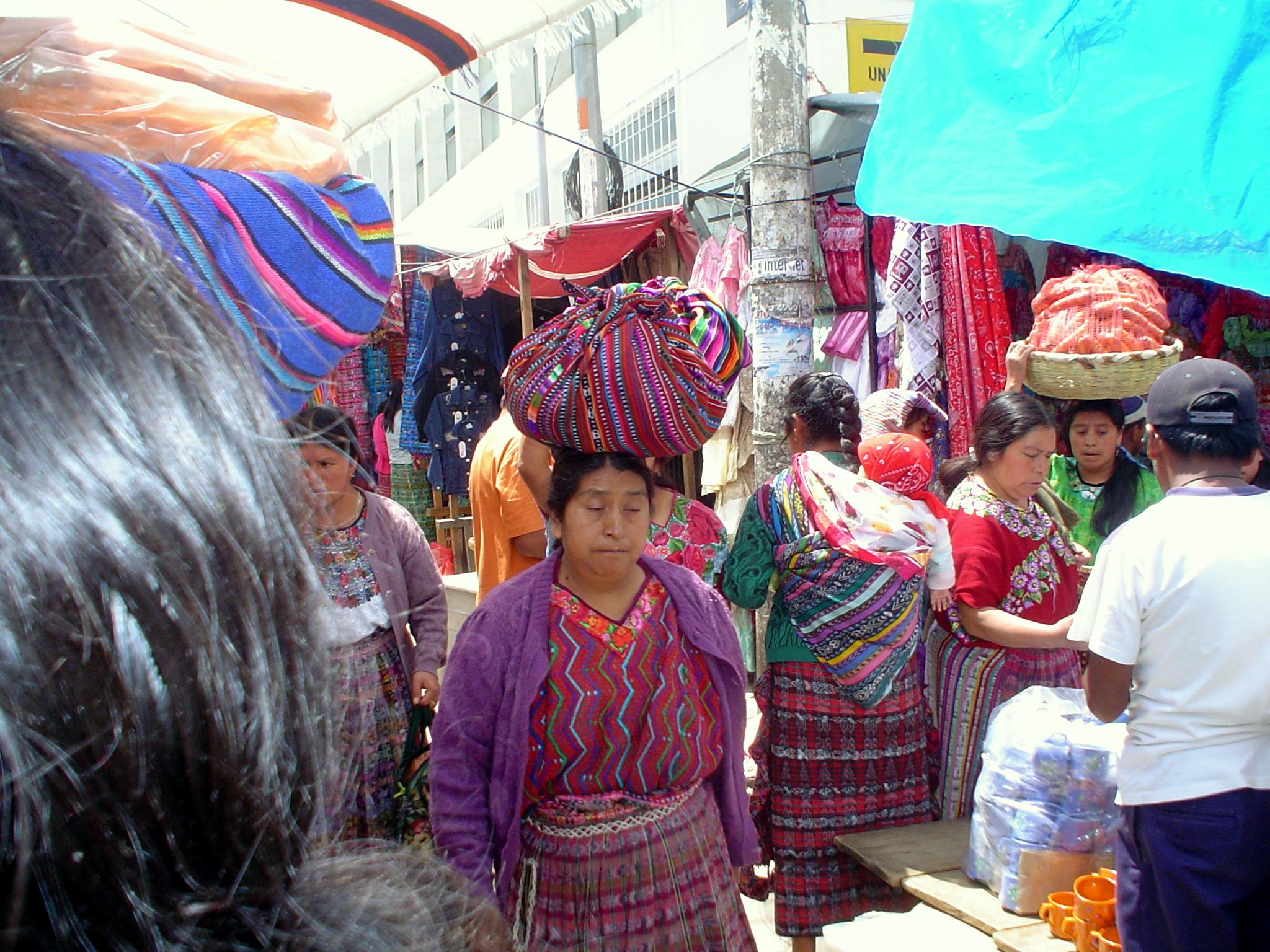 Daily village market.