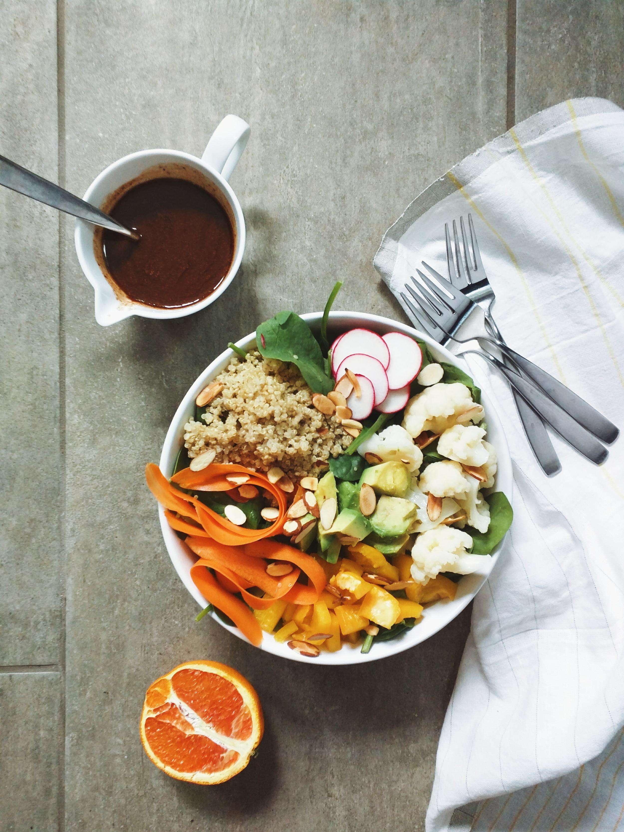 Stress Reducing Avocado & Quinoa Nourish Bowl