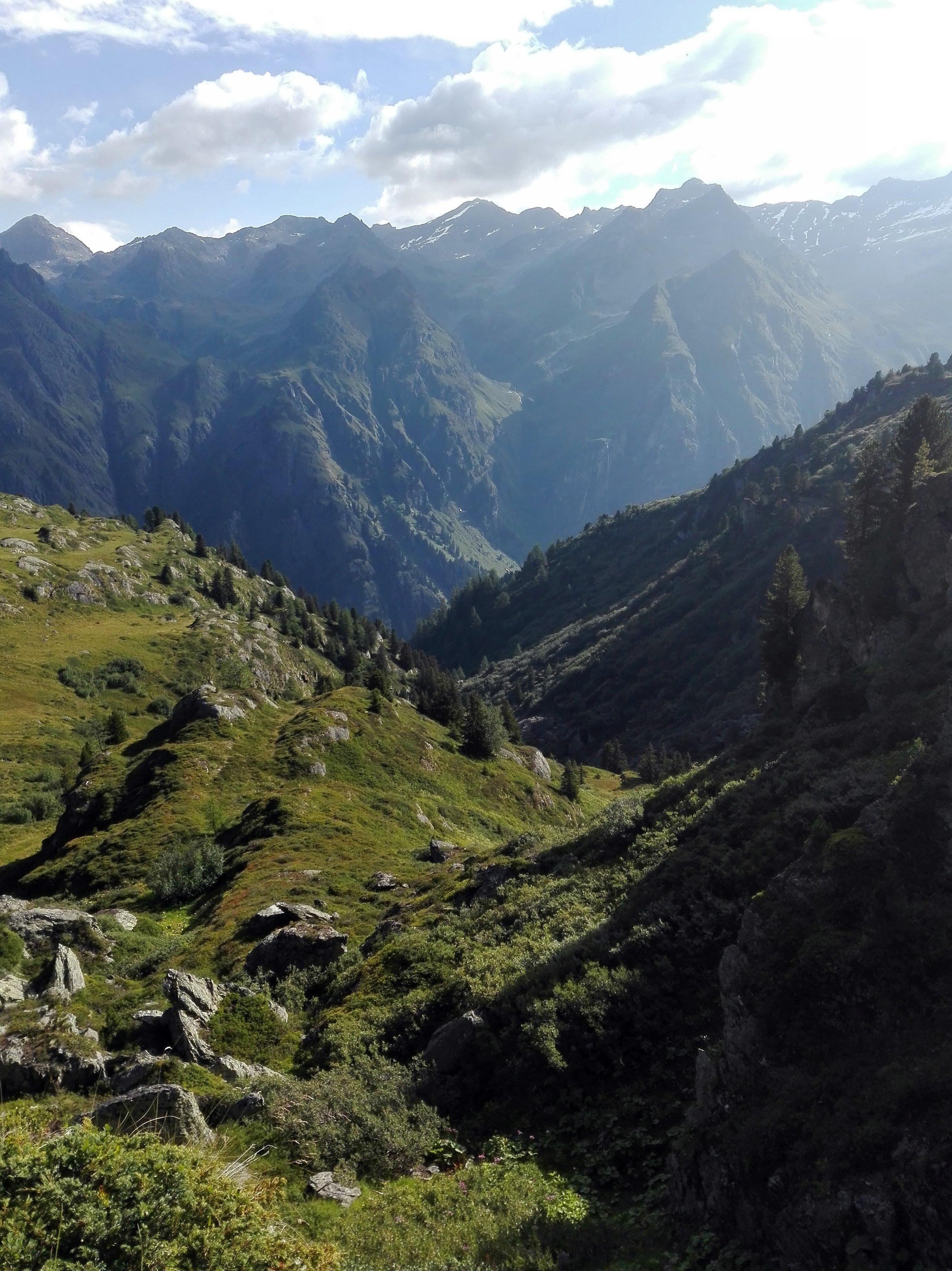 Swiss Alps near Verbier