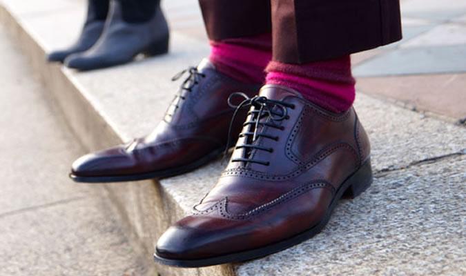 charcoal dress shoes