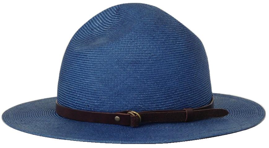 圓頂皮帶草帽/預計2016年4月上市