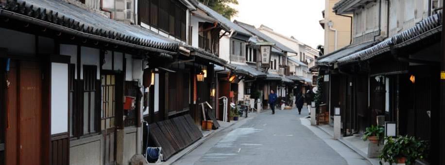 A traditionally preserved street