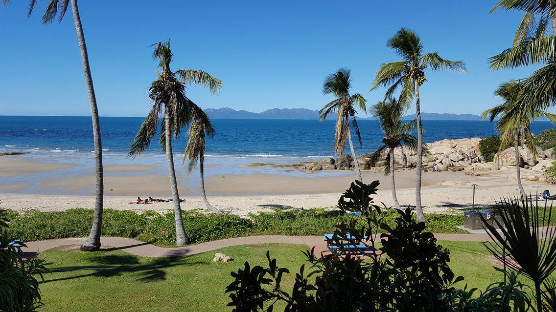 A place to stop, sit and breathe... Rose Bay, Bowen, Queensland, Australia