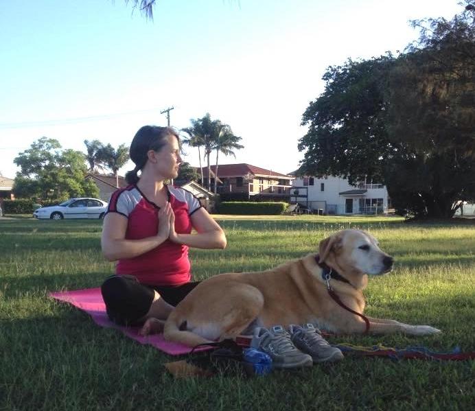 The gorgeous Milo  Sunset Yoga 2014