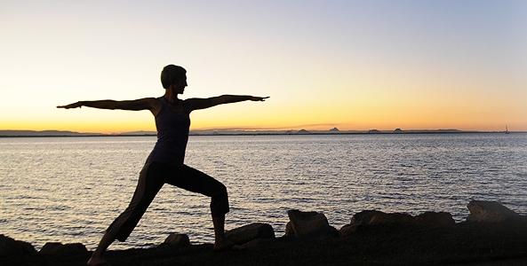 Sunset Yoga May 2015