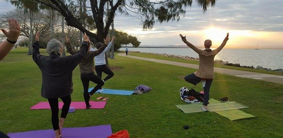 Sunset Yoga winter 2015
