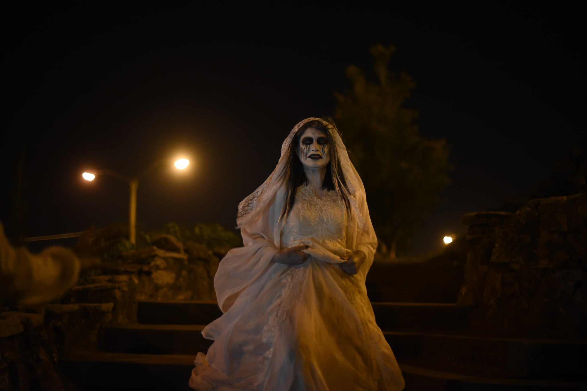 Marisol Ramirez as the unveiled La Llorona in  The Curse of La Llorona.