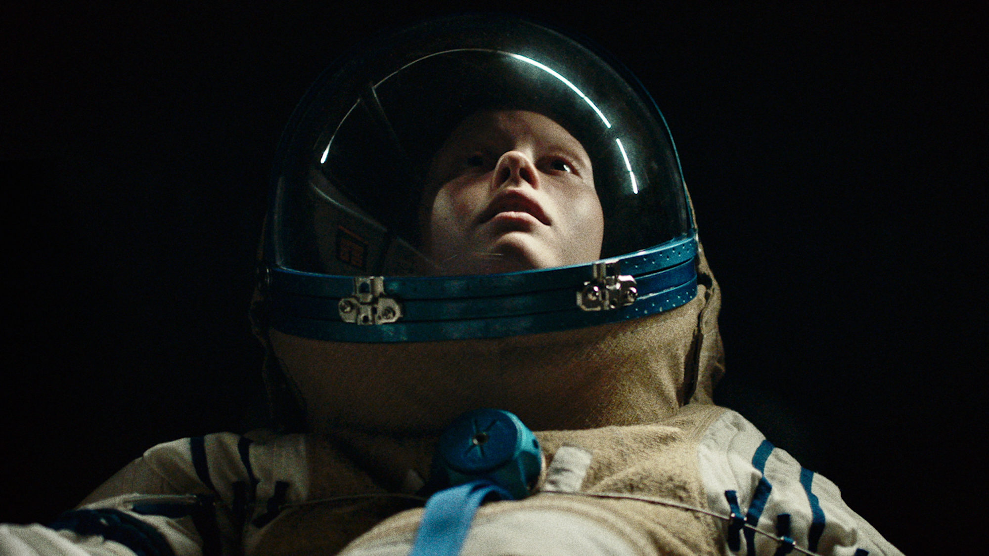 Mia Goth drifts into space as Boyse in  High Life .