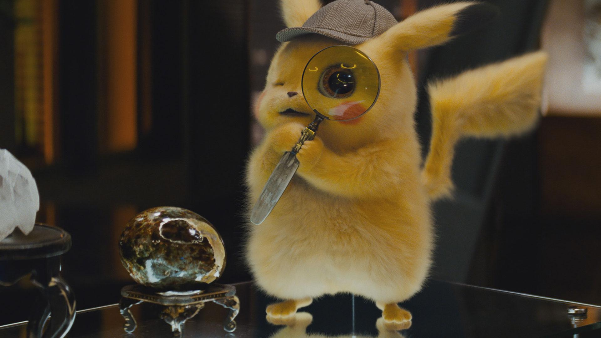 Ryan Reynolds in motion capture as Pikachu in  Pokémon: Detective Pikachu .