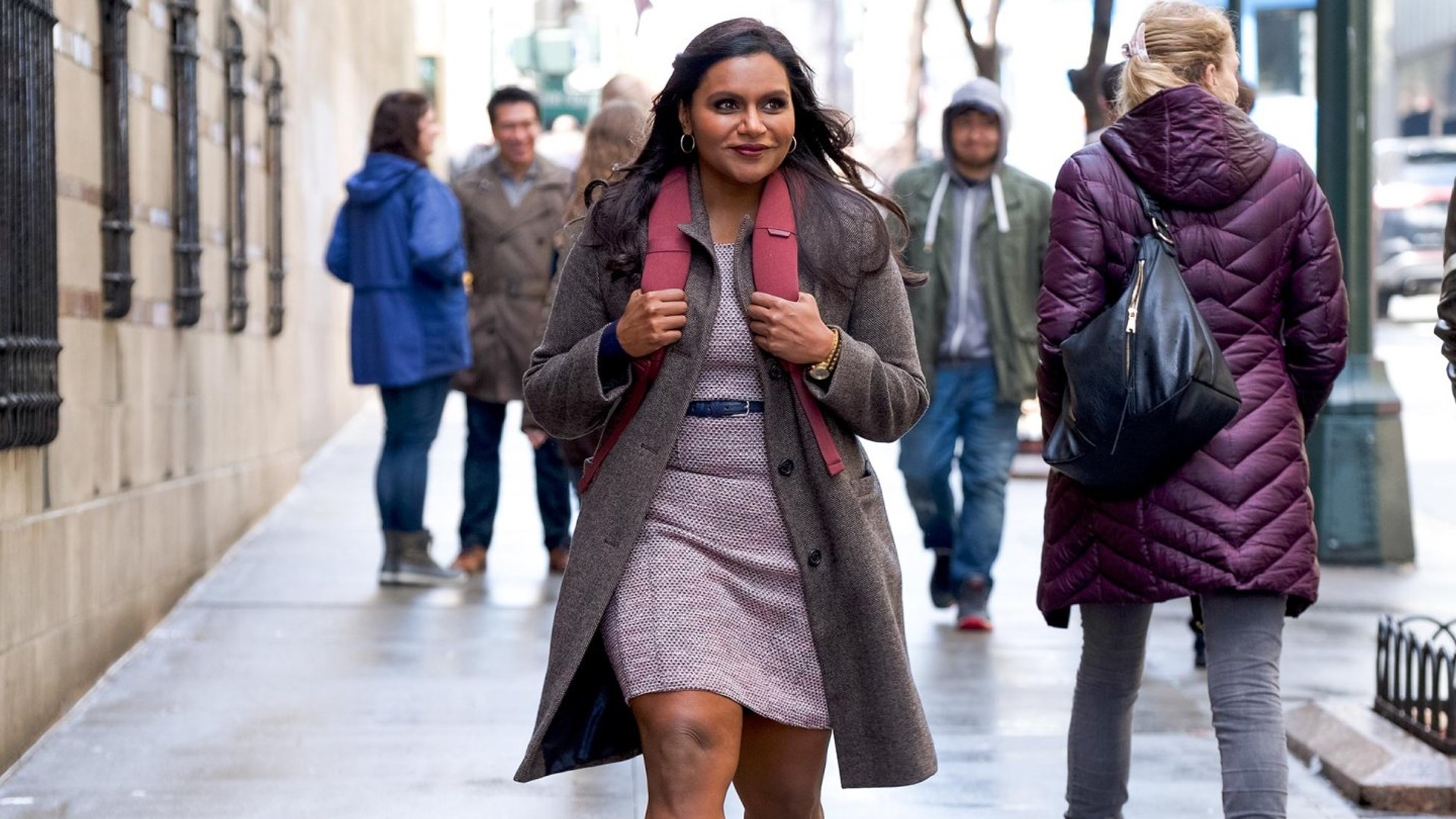 Mindy Kaling as Molly Patel in  Late Night .