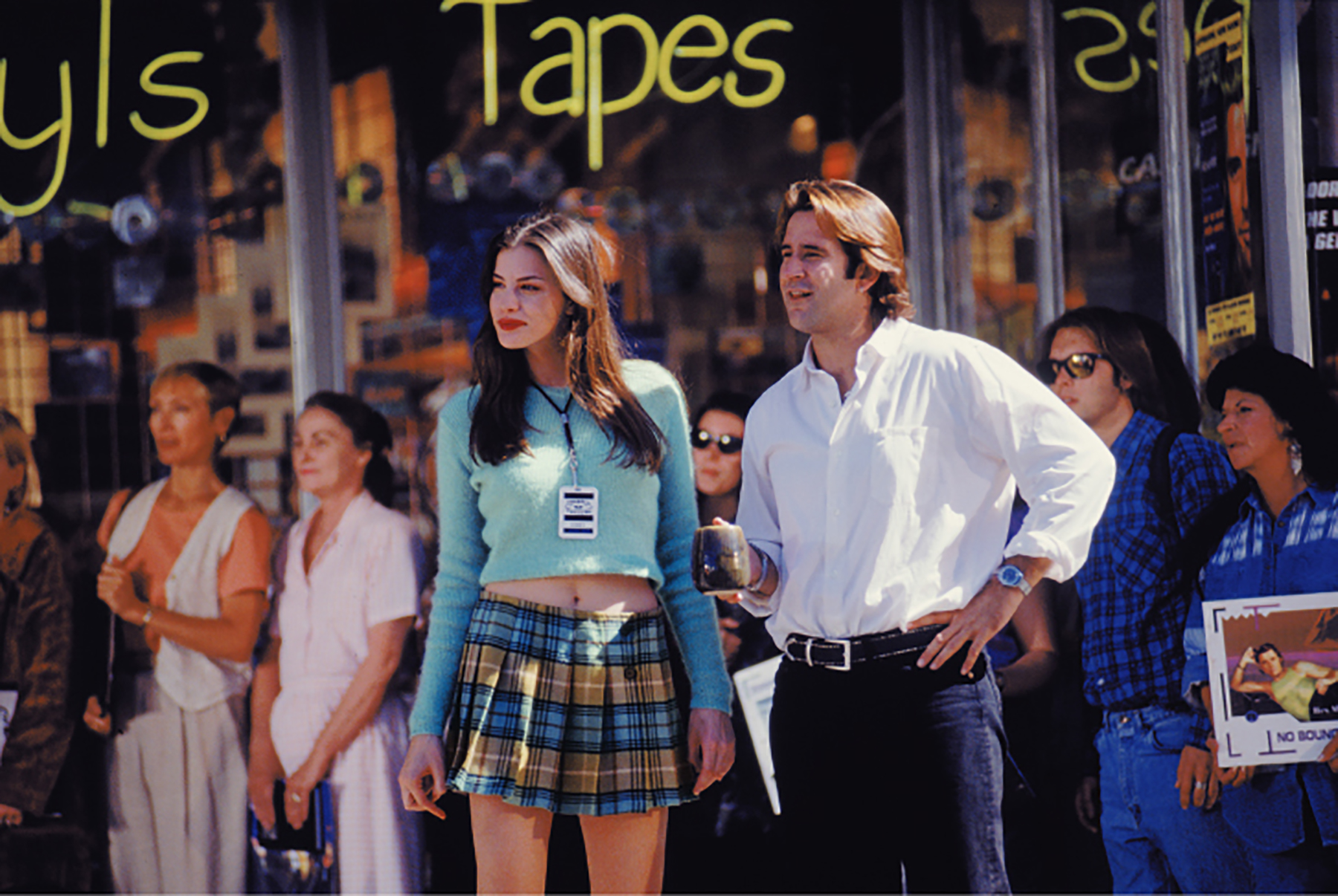 Liv Tyler and Anthony LaPaglia in  Empire Records .