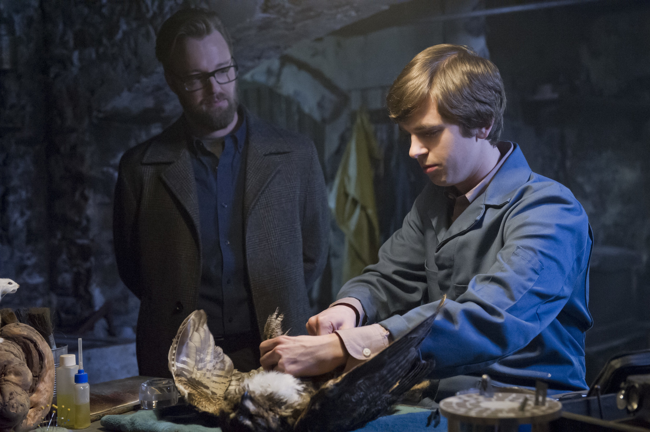 Freddie Highmore takes on the iconic role of Norman Bates in  Bates Motel .