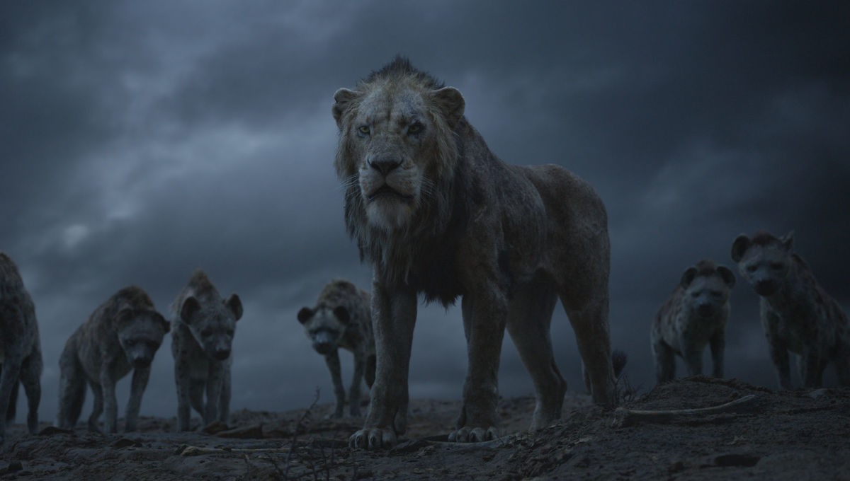Chiwetel Ejiofor voices the iconic villain Scar in Disney's remake of  The Lion King .