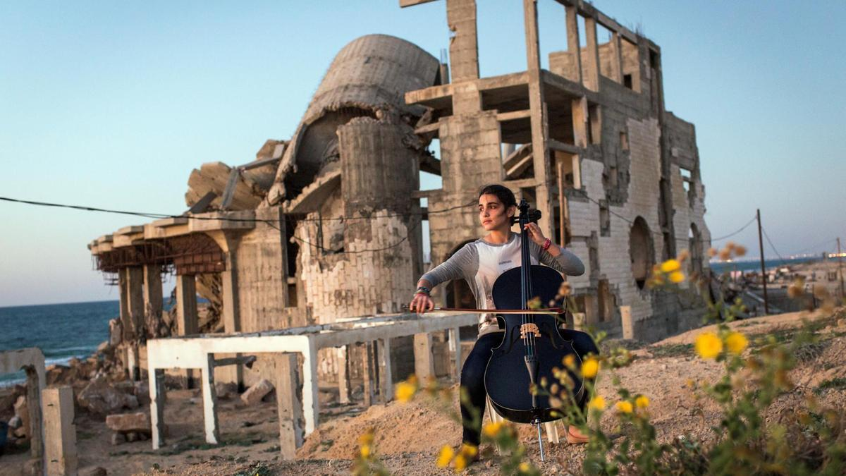 The lives of Palestinians on the Gaza strip are showcased in Andrew McConnell and Gary Keane's  Gaza .