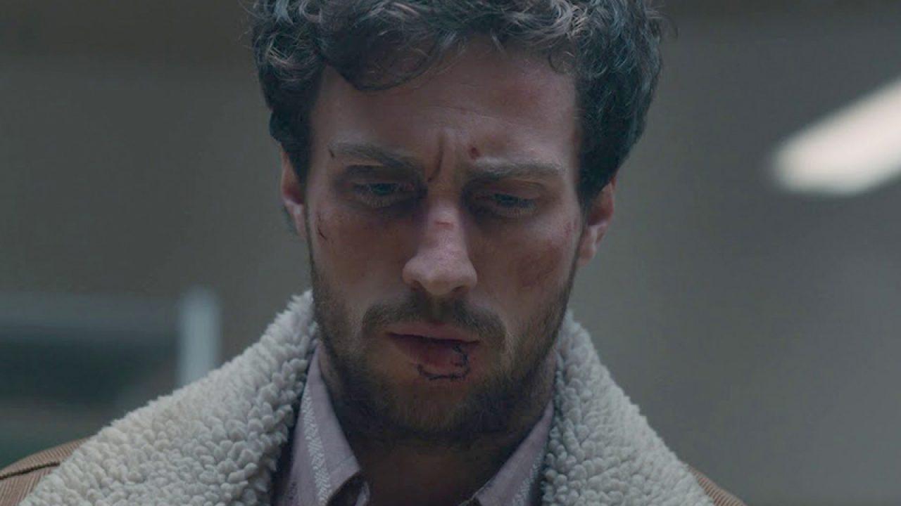 Aaron Taylor-Johnson stars as James Frey in  A Million Little Pieces .