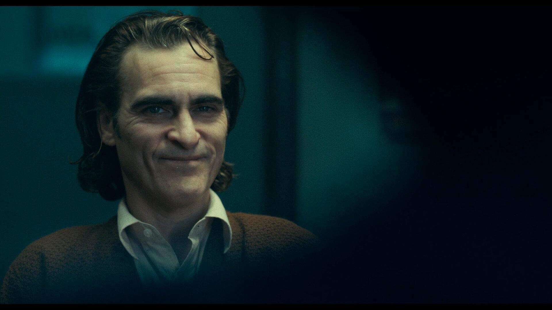 Joaquin Phoenix gives a knockout performance as Arthur Fleck in  Joker .