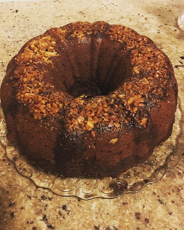 Chocolate walnut cake with coffee syrup. - - - #stillbaking #glutenfreebaking #veganfriendly #formorningtea #ozlife #cakeforeveryone #eggfree #coconutsugar #espressosyrup #weekendbaking #dairyfree #veganbaking