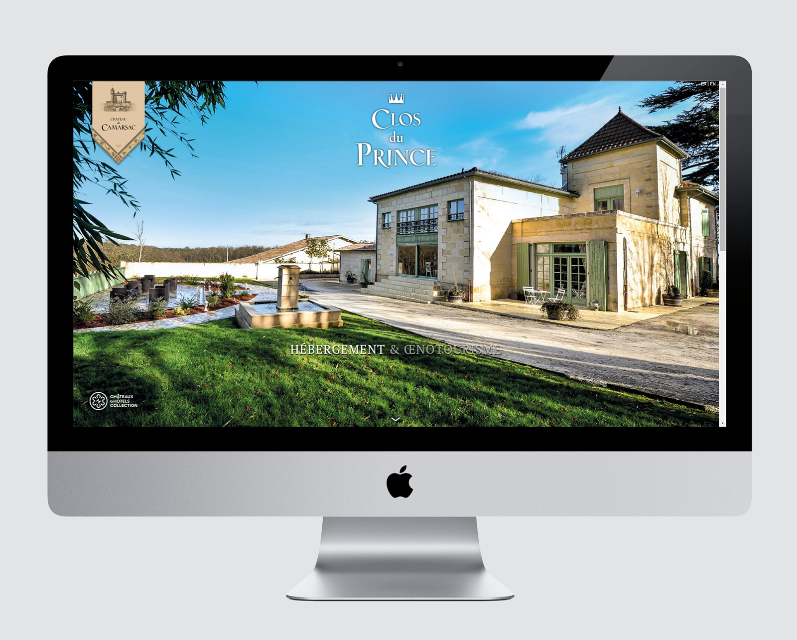 CLOS DU PRINCE B&B - WEBSITE