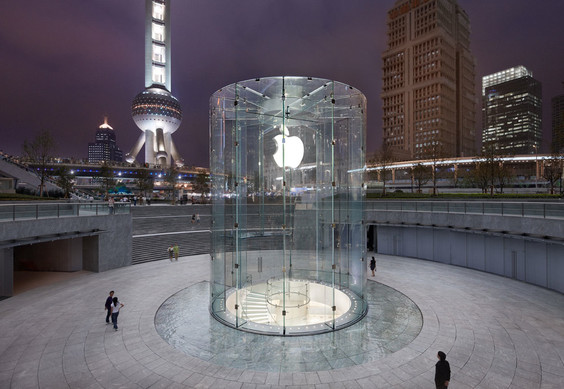 Apple Store in Pudong, China